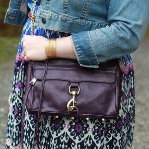 ⬇️ Rebecca Minkoff MAC Purple Crossbody Purse